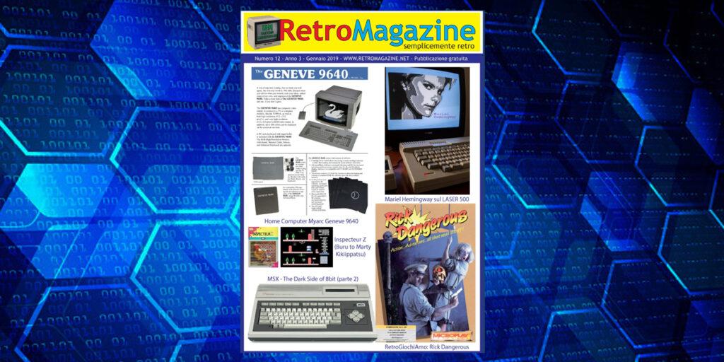 RetroMagazine n° 12 - Gennaio 2019