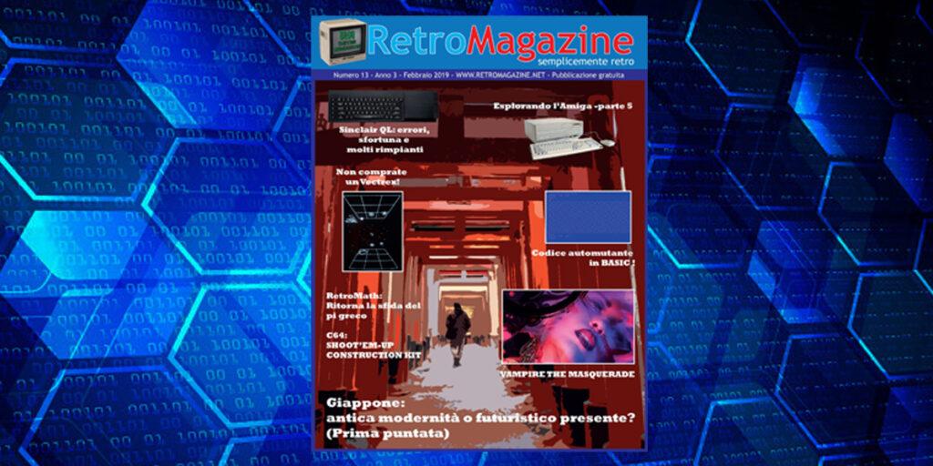 RetroMagazine n° 13 - Febbraio 2019