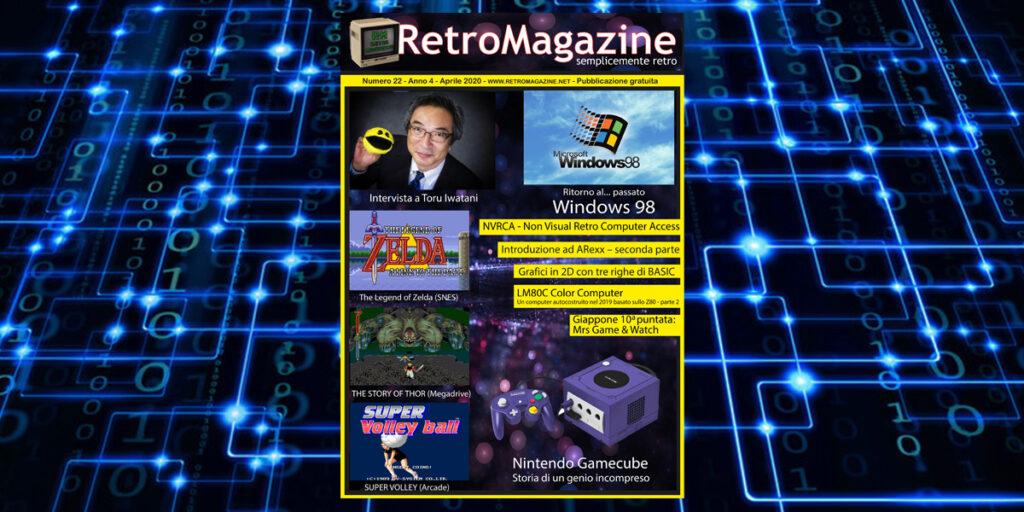 RetroMagazine n° 22 - Aprile 2020