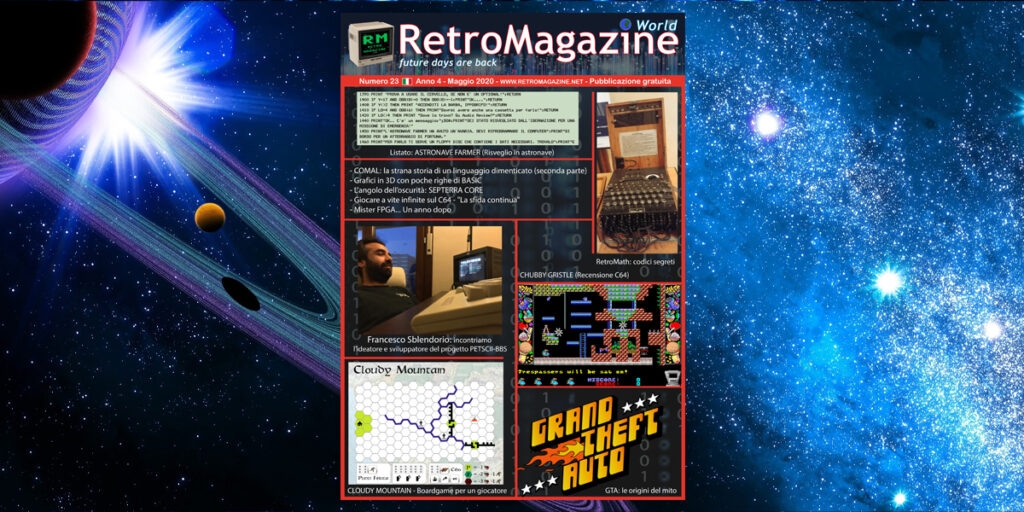 RetroMagazine World n° 23 - Maggio 2020