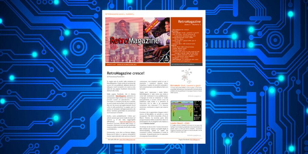 RetroMagazine n° 5 - Marzo 2018