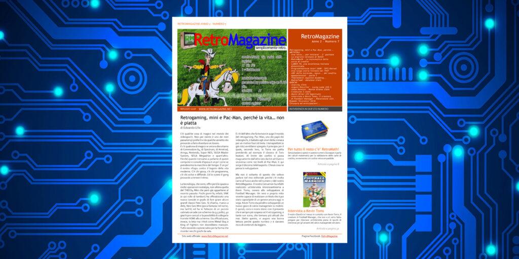 Retromagazine n° 7 - Maggio 2018