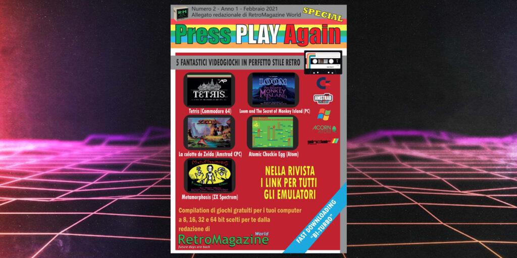 Press Play Again n° 2