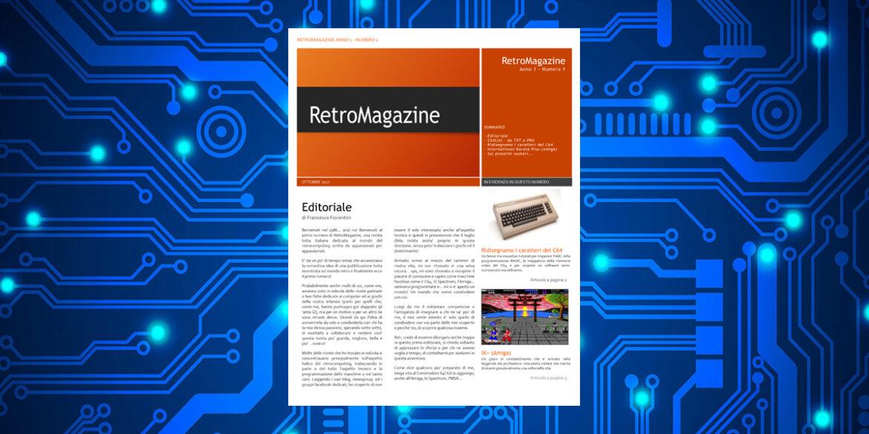 RetroMagazine n°1 – Ottobre 2017