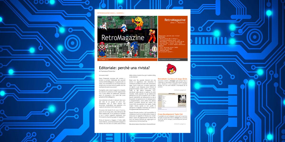 Retromagazine n°2 – Dicembre 2017