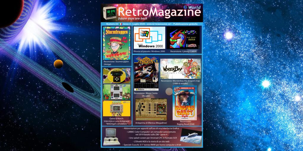 RetroMagazine World n° 24 - Luglio 2020