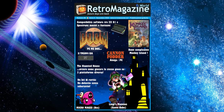 RetroMagazine World n° 26 – Novembre 2020