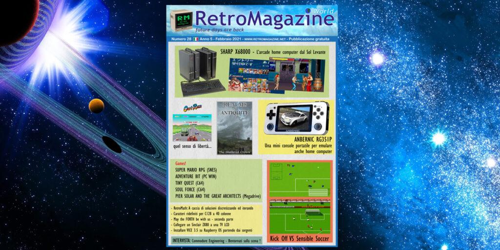 RetroMagazine World n° 28 - Febbraio 2021