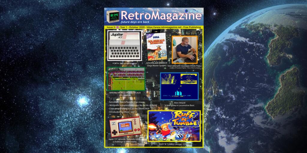 RetroMagazine World #03 Eng October 2020