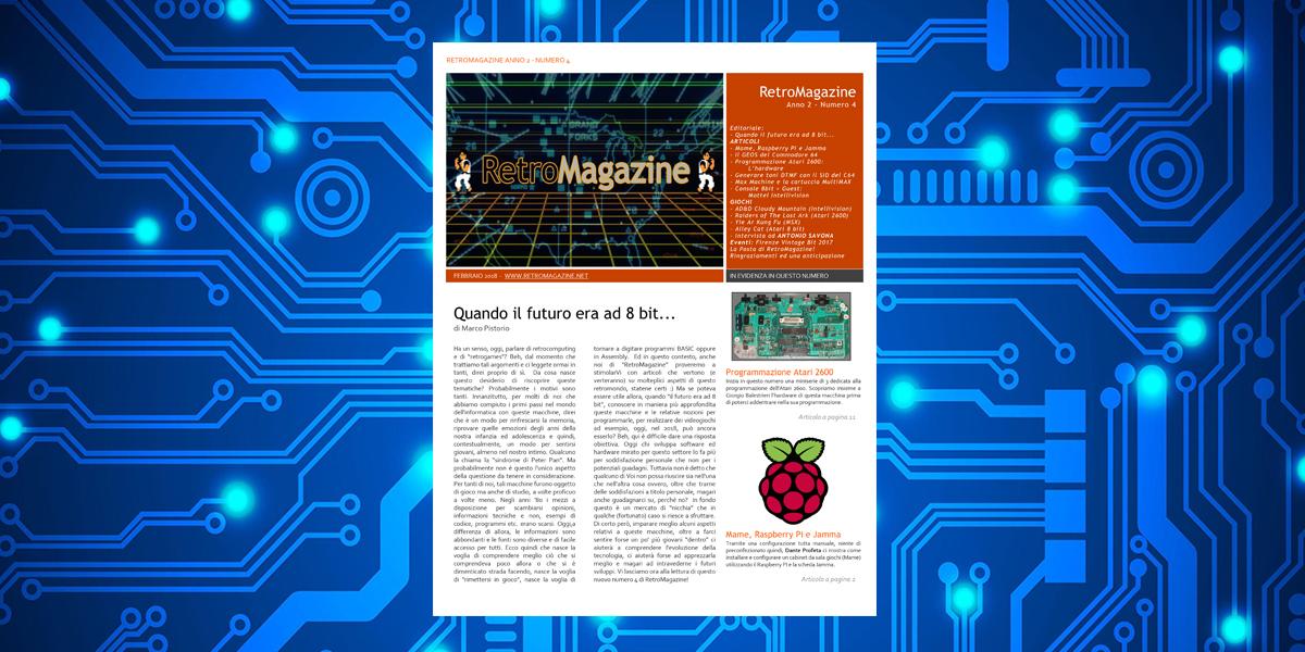 Retromagazine n° 4 – Febbraio 2018