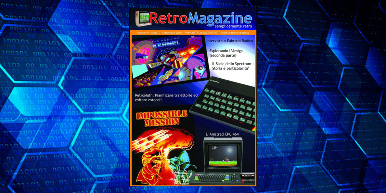 RetroMagazine n° 9 – Settembre 2018