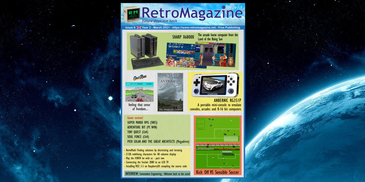 RetroMagazine World #6 – Eng – March 2021