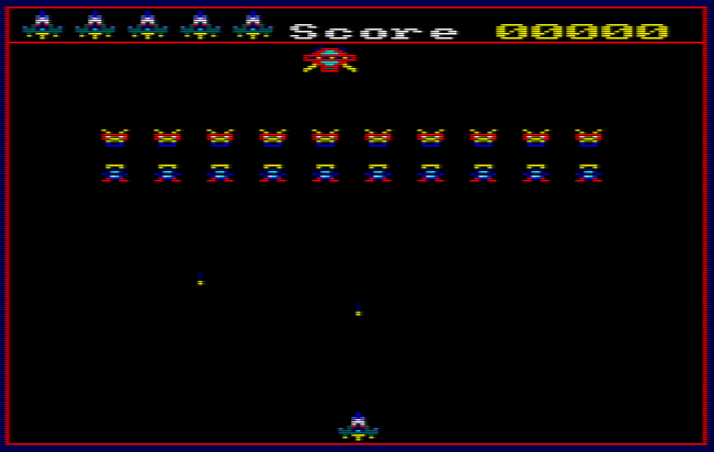 Galactic Invaders – Amstrad CPC Locomotive Basic