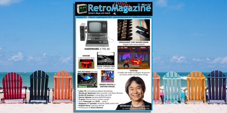 RetroMagazine World n° 31 – Luglio/Agosto 2021