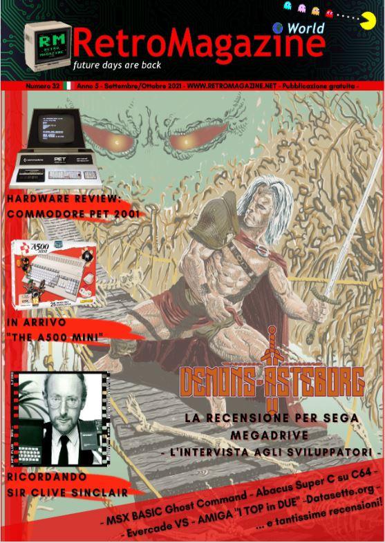 RetroMagazine World n° 32 – Settembre/Ottobre 2021