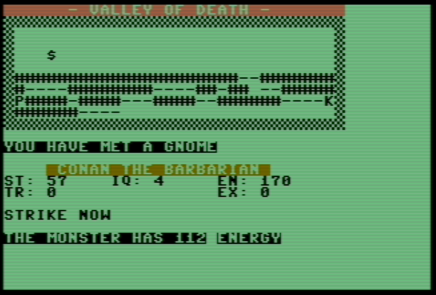 Valley of Death – Commodore 64 – Basic V2